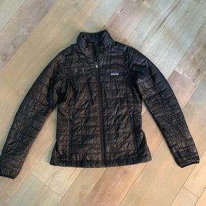 Black Patagonia Nano Puff Jacket